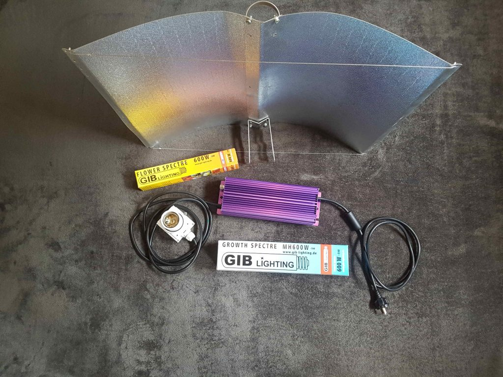 Growbox beleuchtung